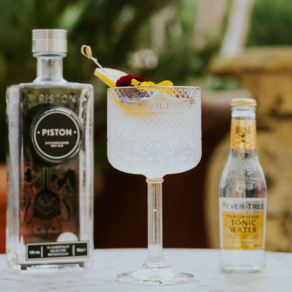 Piston Gin & Tonic